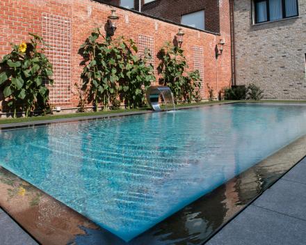 Zwembad polypropyleen grijs